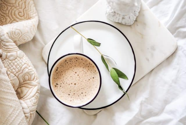 Self-care morning routine for working moms