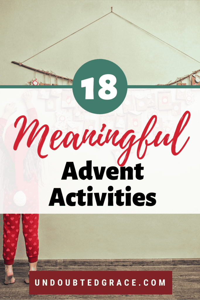 meaningful advent ideas to prepare for advent