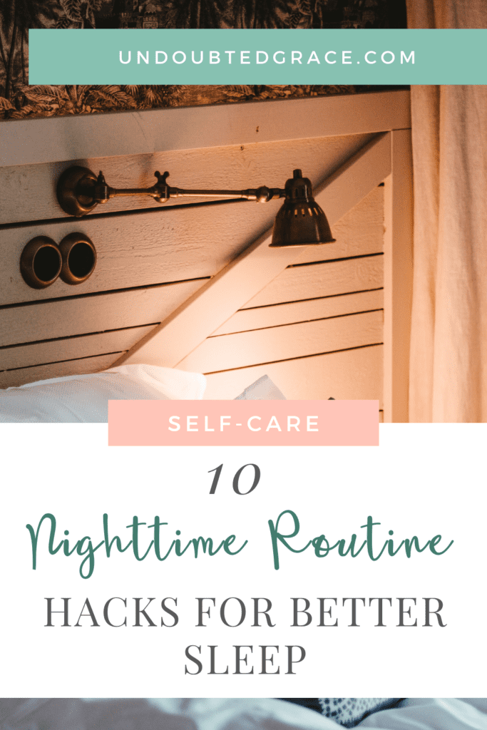 nighttime routine, bedtime routine