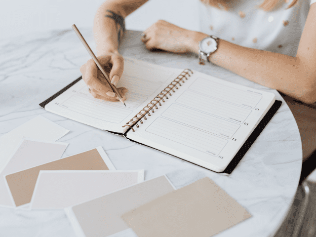 how to use a planner, using a planner